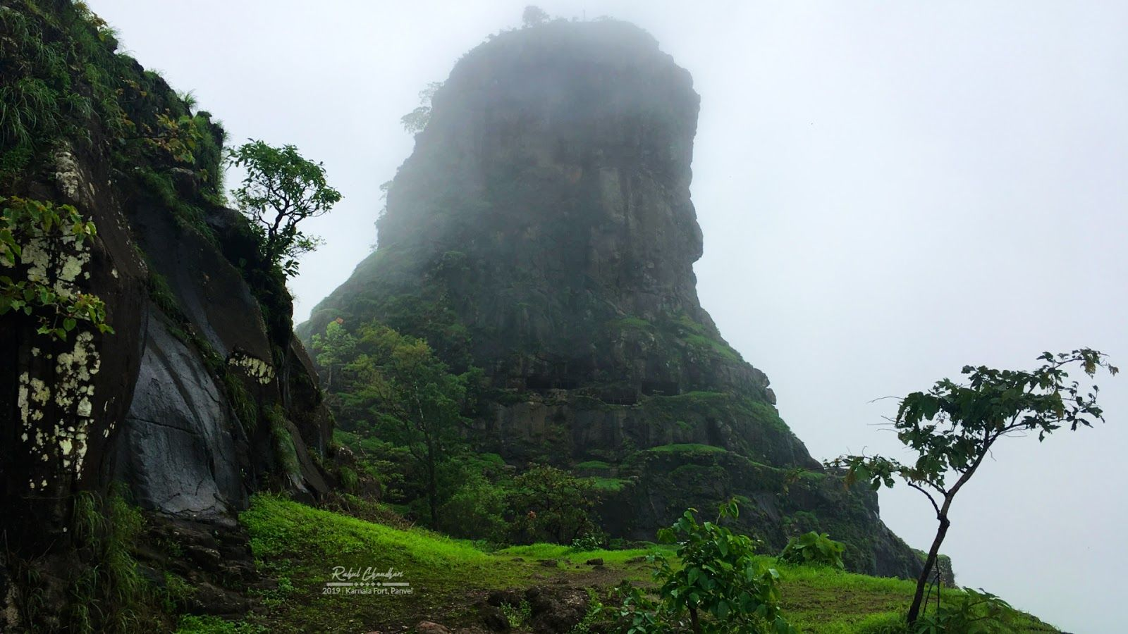 Pandus Tower Karnala Fort Panvel India