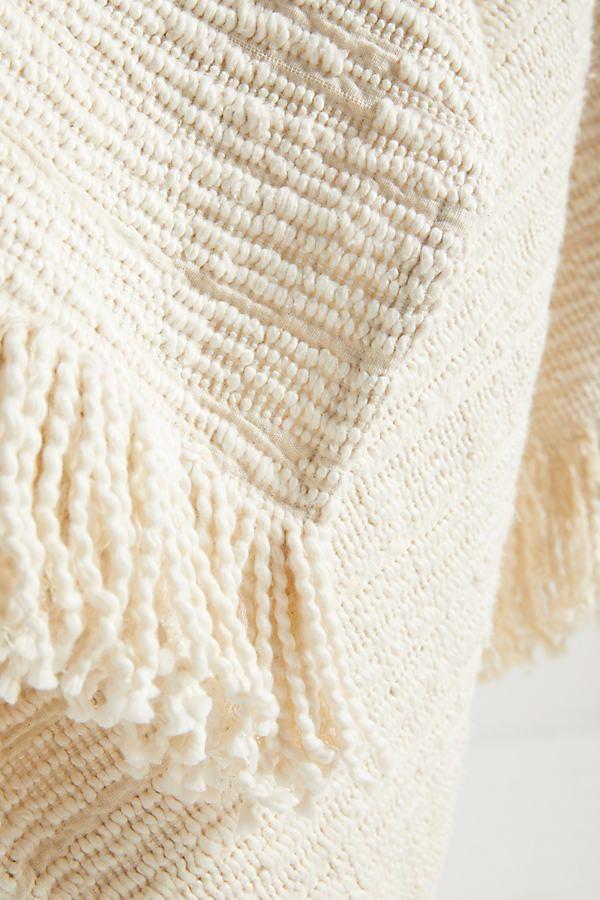 Textured Kadin Throw Blanket