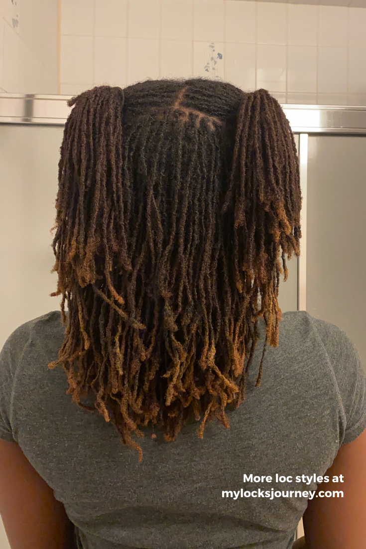 Easy Ways To Style Locs In 2020 Short Locs Hairstyles Locs Hairstyles Medium Hair Styles