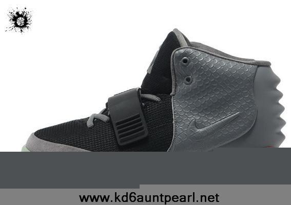 Latest Men Shoes Gray Black Nike Air Yeezy II