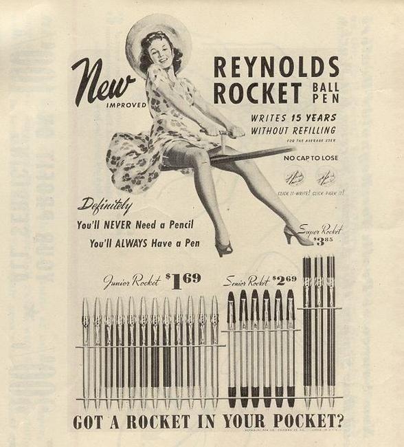 reynolds rocket gimbal ad