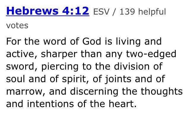 Bible edge verse?