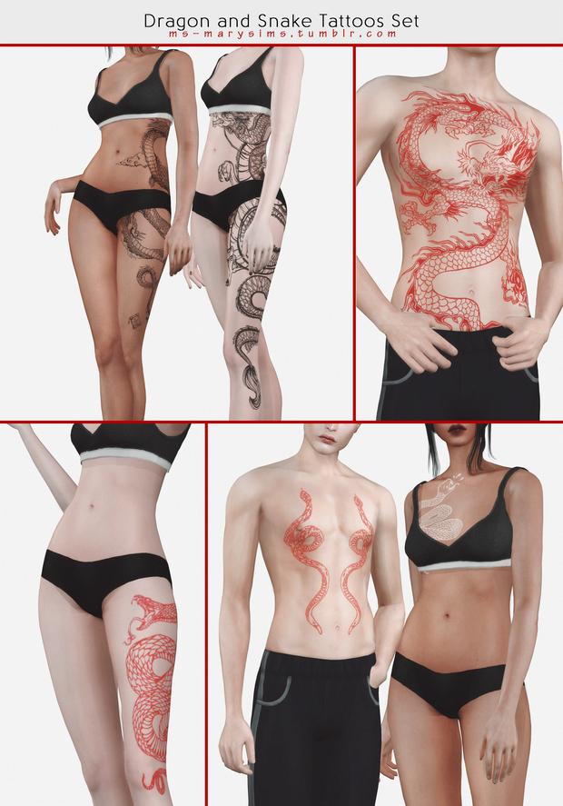 Tattoos Set #3