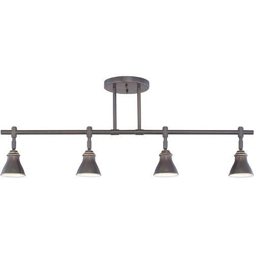 e6972b2635d Quoizel Track Lights Bronze Four-Light Ceiling Track Light ...