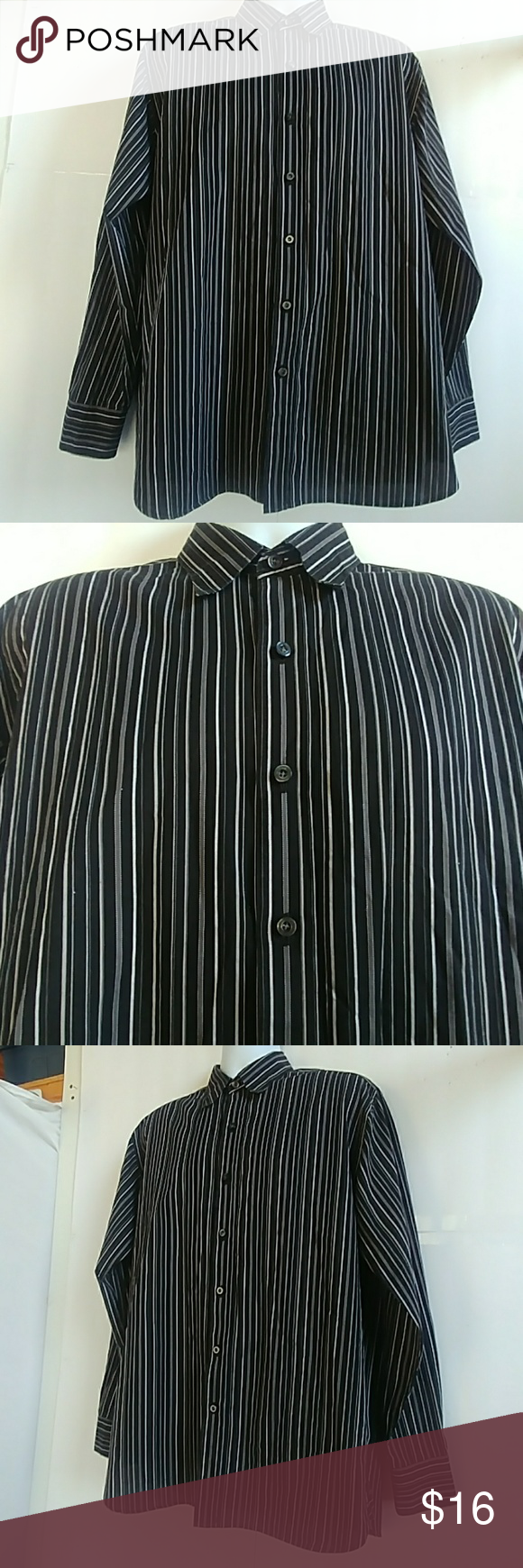 Sale Austin Reed Men S Pinstripe Dress Shirt Pinstripe Dress Pinstripe Shirt Dress