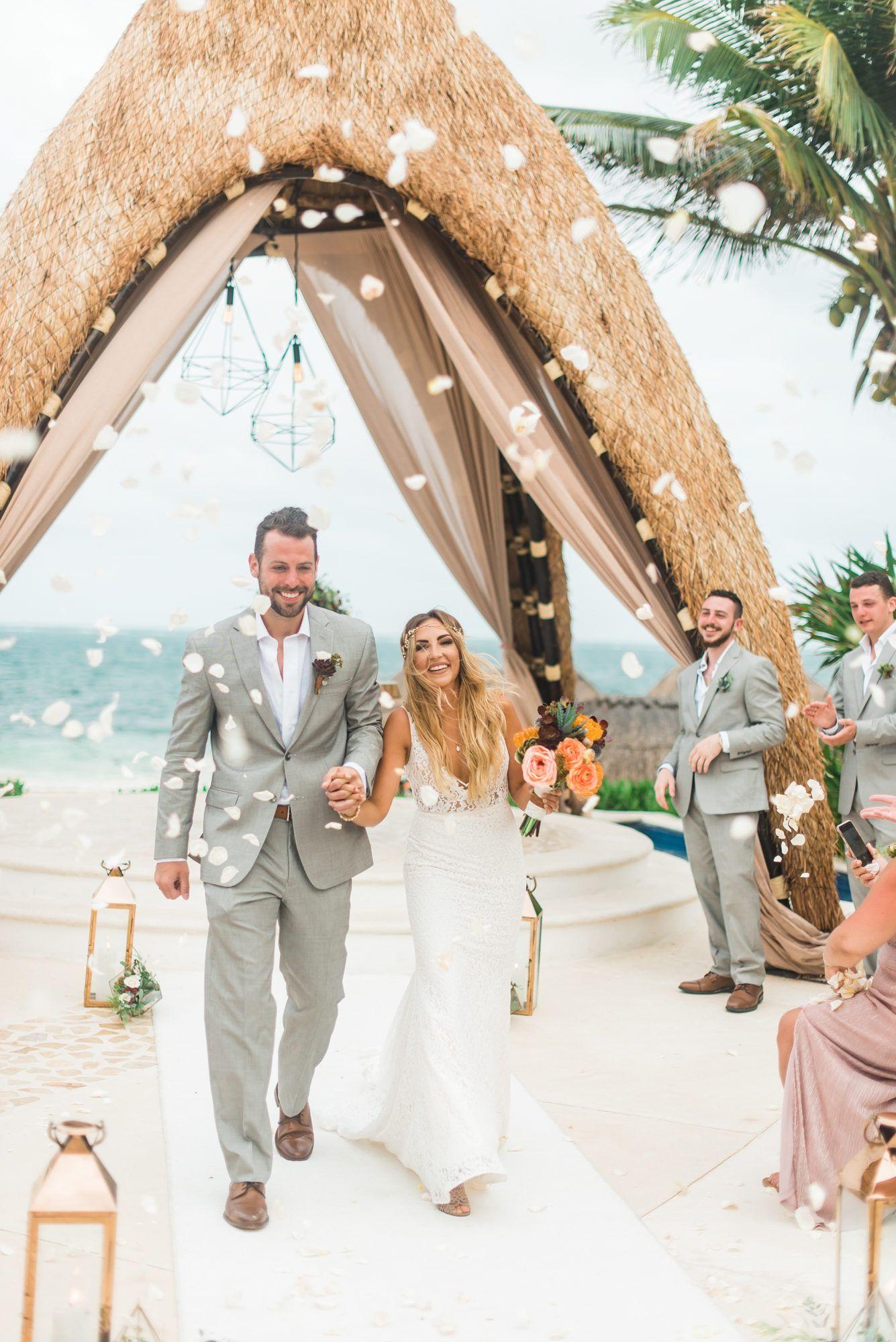 df55c9e5b0 Dreamy boho Mexico Wedding Bohemian Beach Wedding, Beach Wedding  Inspiration, Bohemian Weddings, Cancun