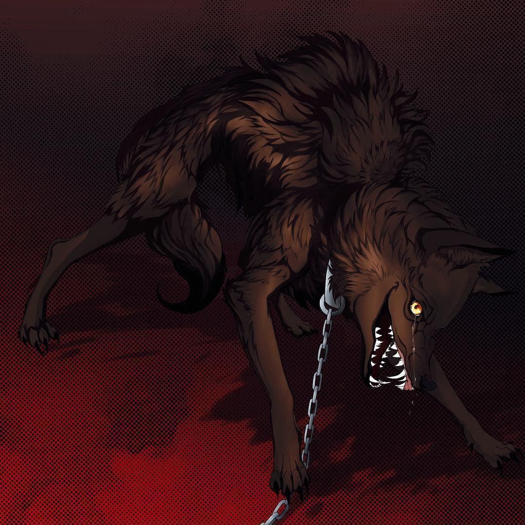Anime Wolf Demon Shadows katsuki bakugoucosplay