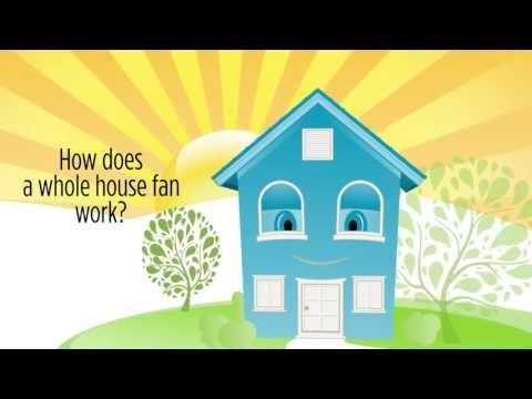 How Do Whole House Fans Work Centric Air Fans Bring In Quiet Cool Fresh Air Youtube House Fan Whole House Fan Whole House Fans