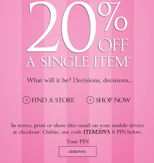 How many offer codes can you use on Victoria's Secret?