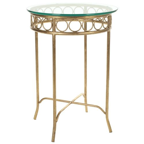 Found It At Wayfair Elise End Table N A Office Expansion - Wayfair gold end table