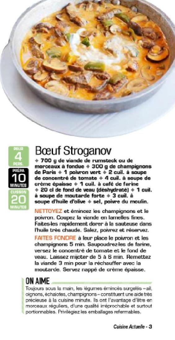 Clippedonissuu From Magazine Cuisine Actuelle Magazine Cuisine