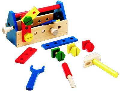Take Along Tool Kit Wooden Toy By Melissa Doug By Melissa