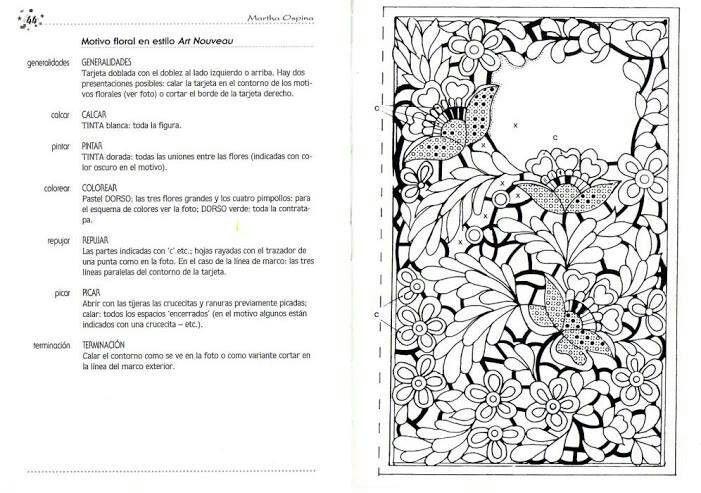 Pin de Repujado Artístico Ka-Fer en Repujado ( Tarjetas ...