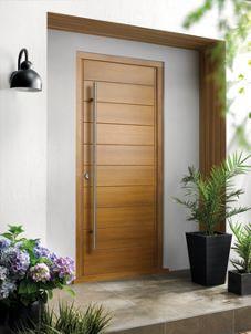 Wickes Oslo External Oak Veneer Door 2032 x 813mm | Wickes.co.uk & Wickes Oslo External Oak Door 2032 x 813mm | Oslo Doors and Front doors