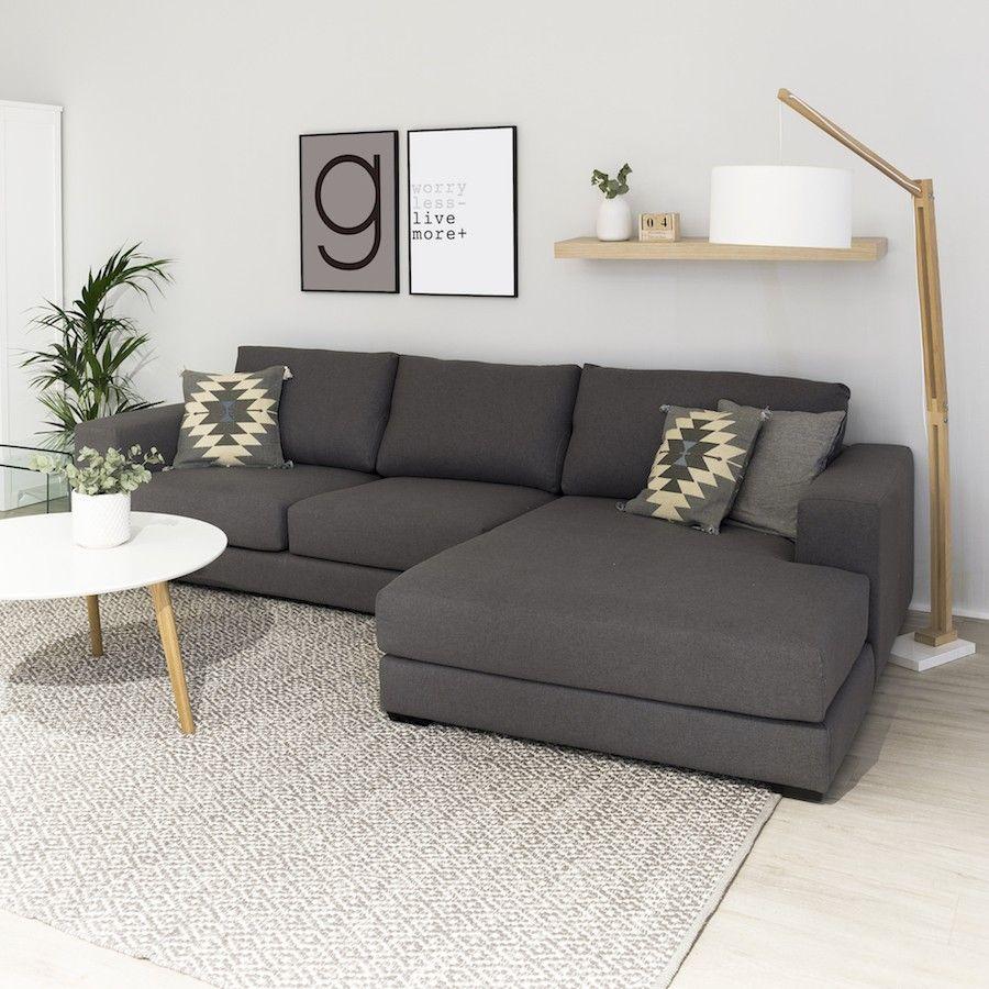 Trevi Sofá Ideas De Sala Gris Sala De Apartamento Pequeño Decoracion De Interiores Living