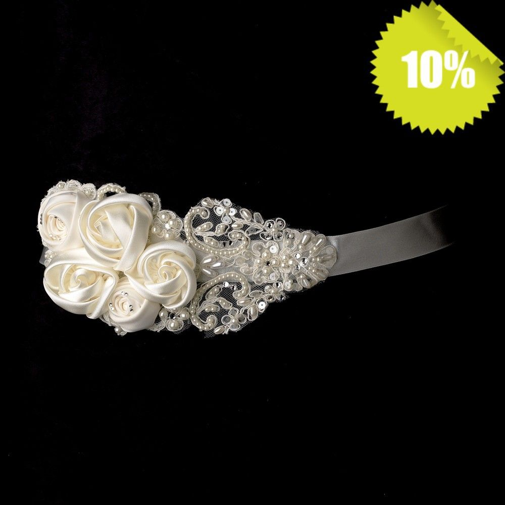 Hot Selling Pearl Beaded Glass Stone Shine Hand Made Flower Bridal Sash  Wedding Sash Belt  on Aliexpress.com