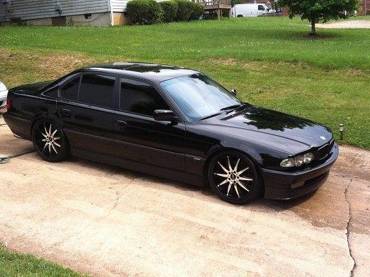 Bmw E38 Black Bmw 740 Bmw Bmw Vintage