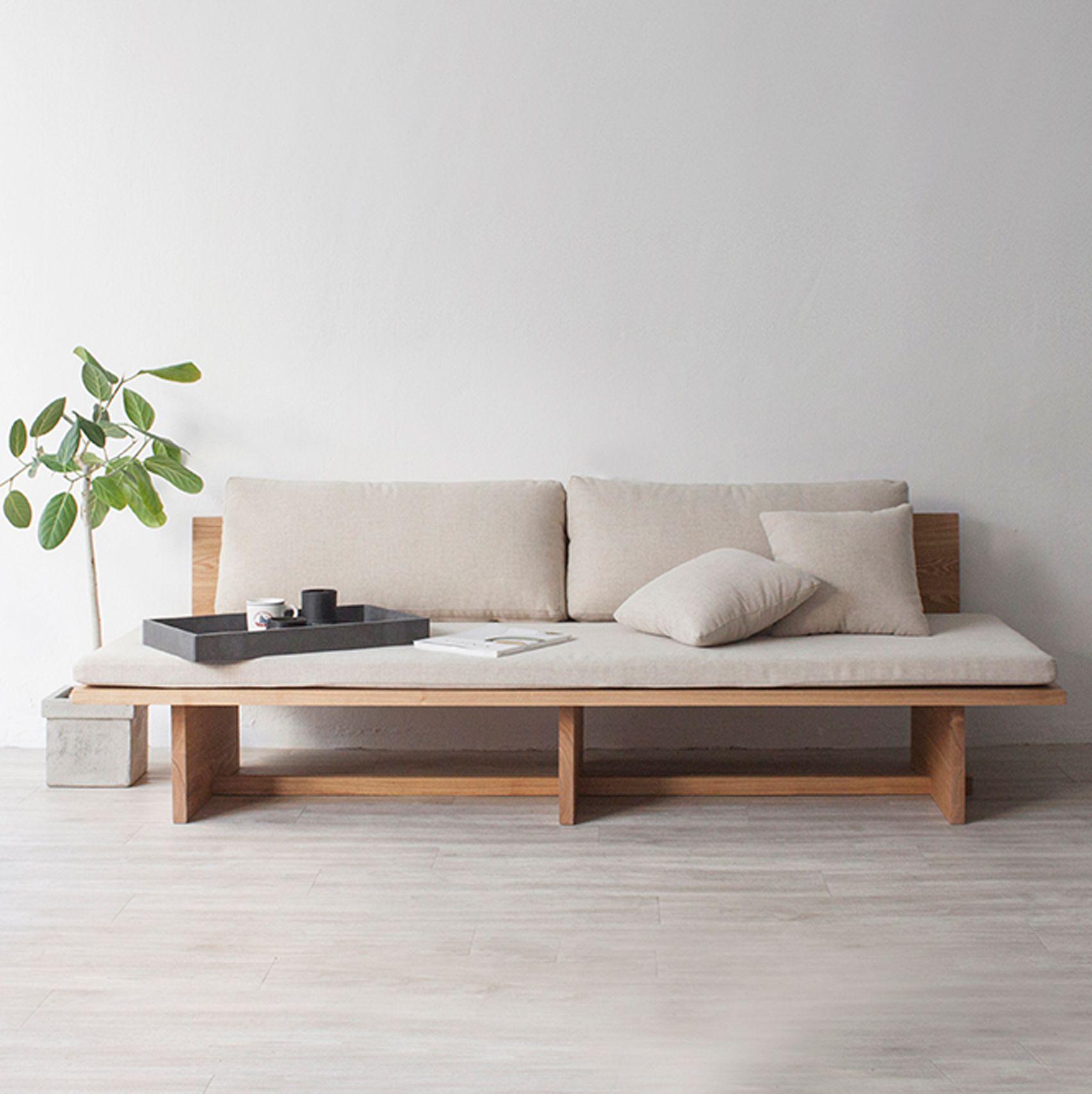 Korean Home Decor: Korean Designer Hyung Suk Cho's Blank Sofa Blends Features