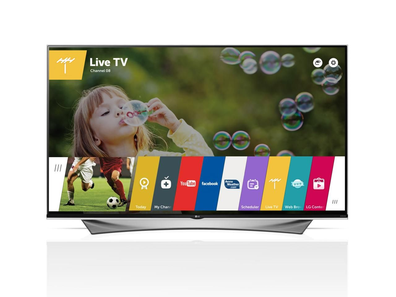 Televisions like the LG Smart TV respond to your voice, so you can