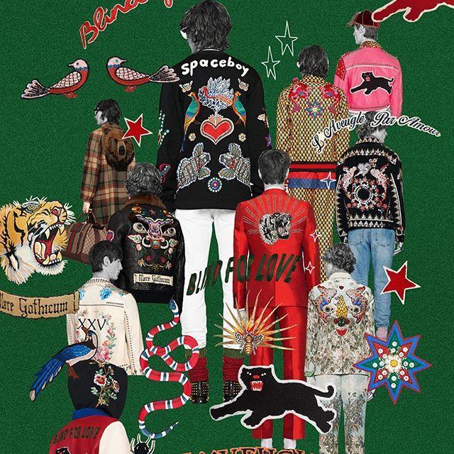 L'aveugle Par Amour #Gucci #Menswear #AlessandroMichele