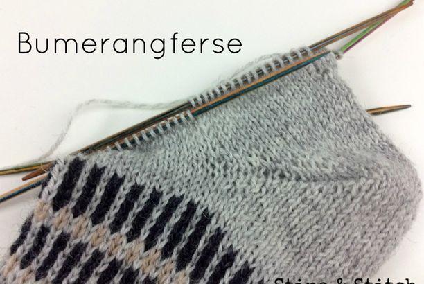 Bumerangferse Tipps Und Tricks Stine Stitch Socken