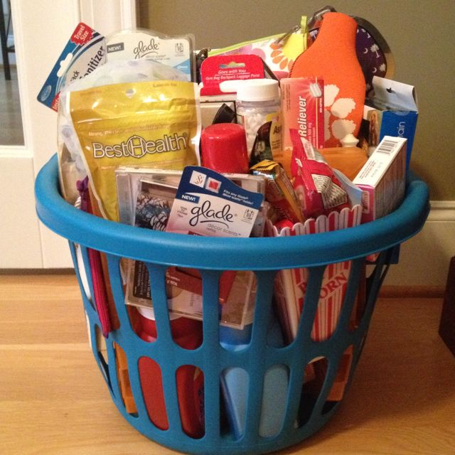Best going to college basket ever apartment decorating - Graduation gift for interior design student ...