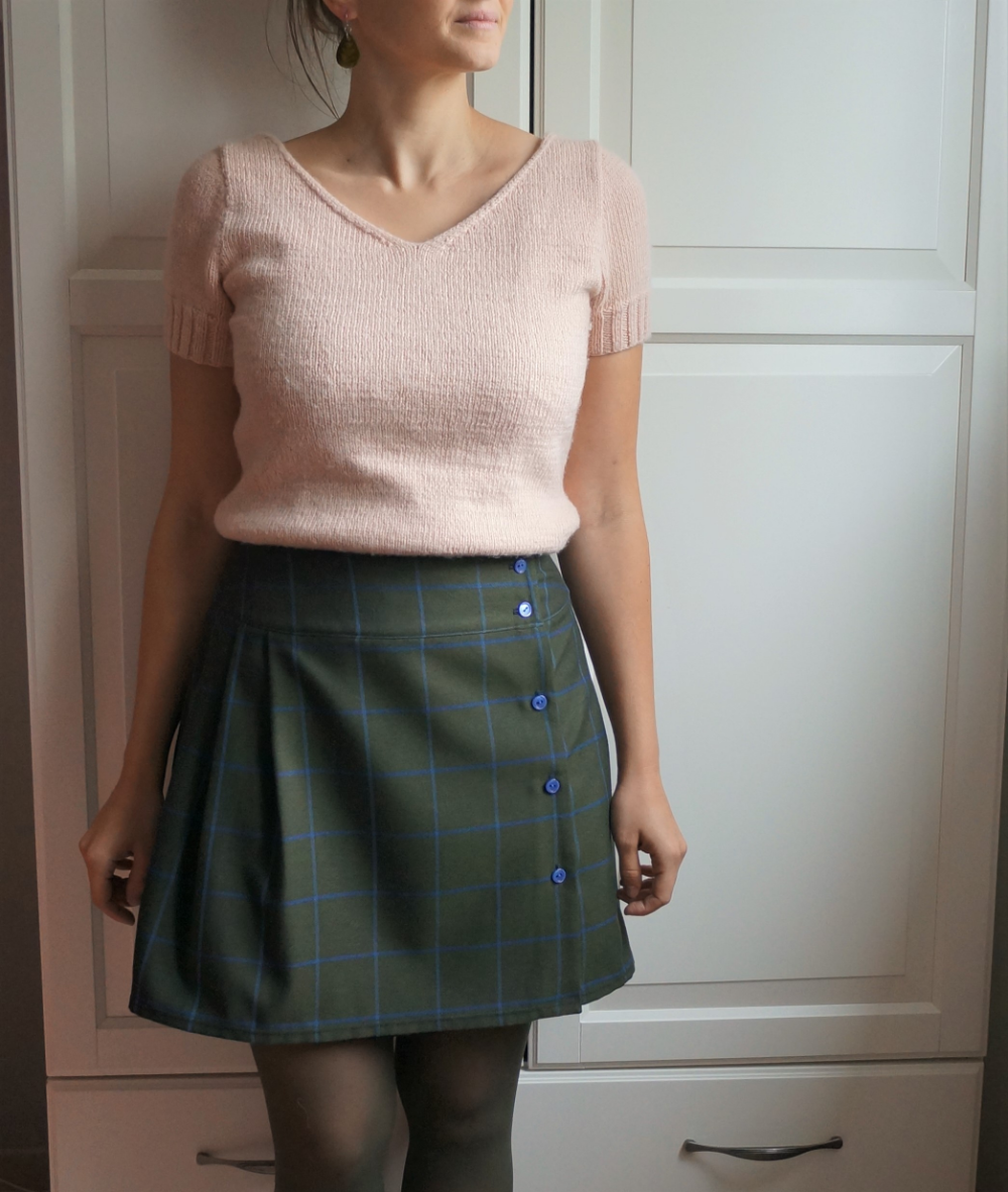 Jupe Olgga Patron De Couture Anna Rose Patterns Skater Skirt Outfit Clothes Design Fashion