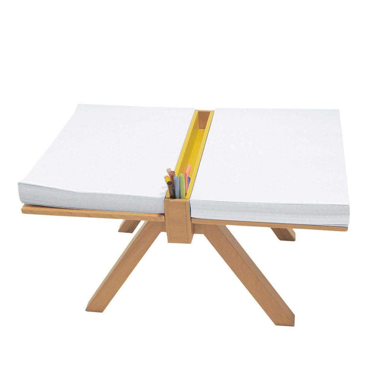 Foglio proposto da domodinamica un tavolino da disegno - Tavolino legno bambini ...