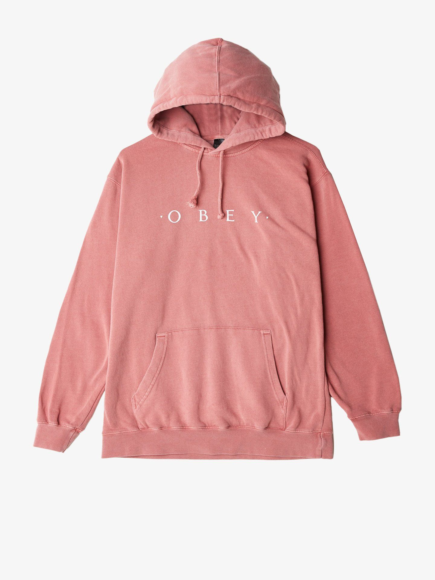 7c78289a0 Novel Obey Basic Pigment Pullover Dusty Dark Rose | Clothes | Mens ...
