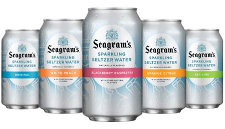 Seagrams Seltzer On Design Muse Blog Seltzer Water Water Packaging Seltzer