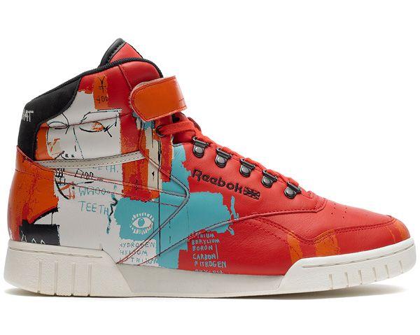 """Jean-Michel Basquiat x Reebok """"Affili"""