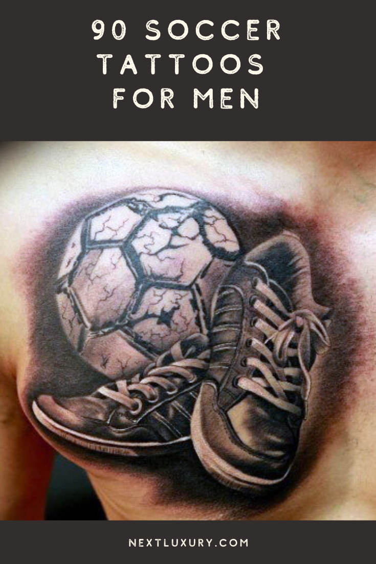 Top 87 Soccer Tattoo Ideas 2020 Inspiration Guide In 2020 Soccer Tattoos Tattoos For Guys Men Tattoos Arm Sleeve