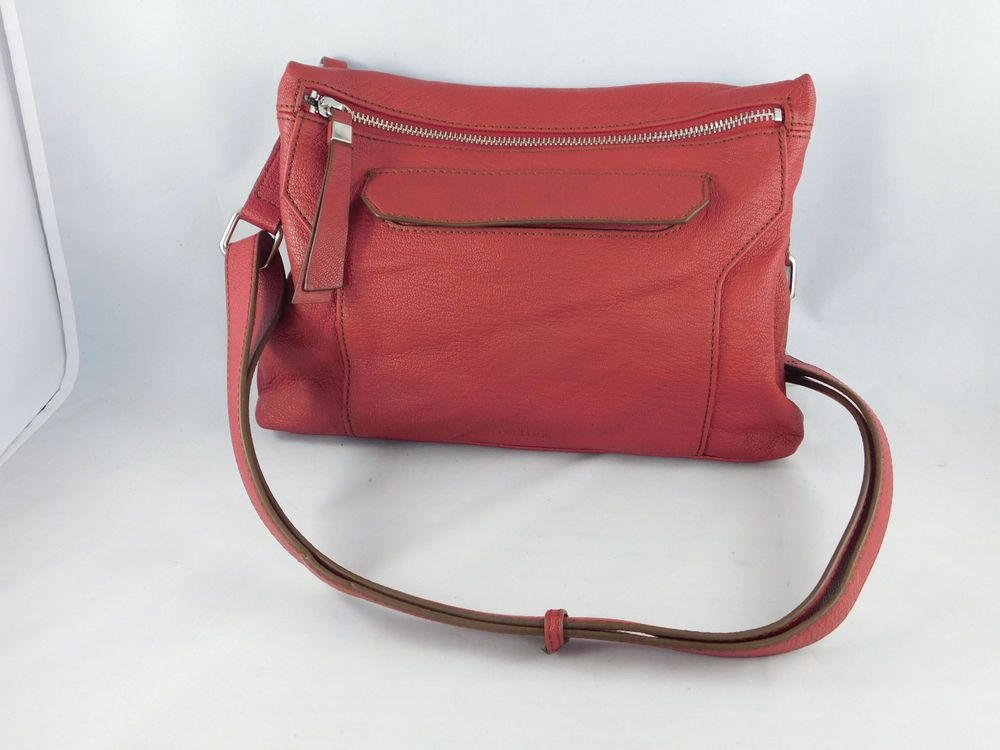Perlina New York Candy Le Red Crossbody Purse Bag