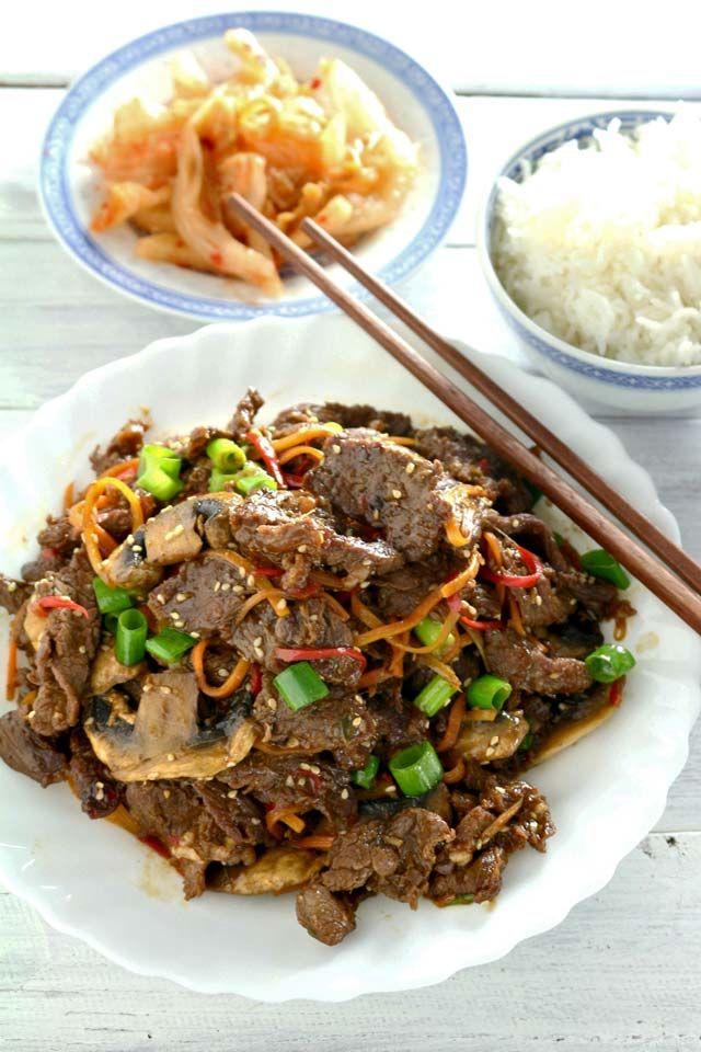 Beef Bulgogi | Recipe | Bulgogi, Bulgogi beef