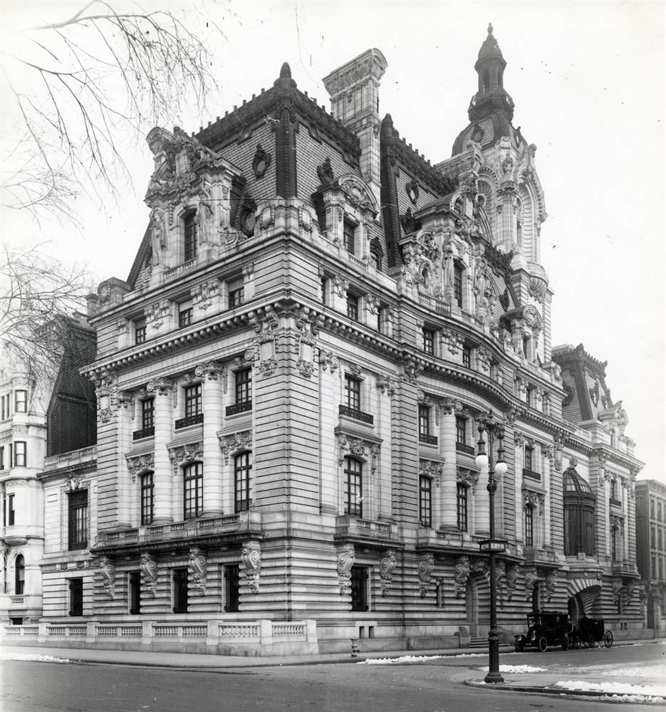"Clark Mansion, ""Clark's Folly"" Fifth Avenue, New York City"