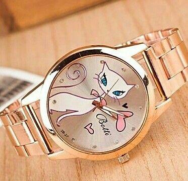 Reloj Gato Reloj Gato Reloj Gatos