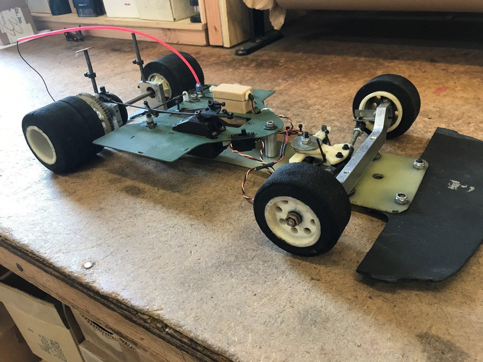Vintage 1 8 Scale Associated Rc 200 R C Nitro Racing Project Car Racing Nitro Vintage