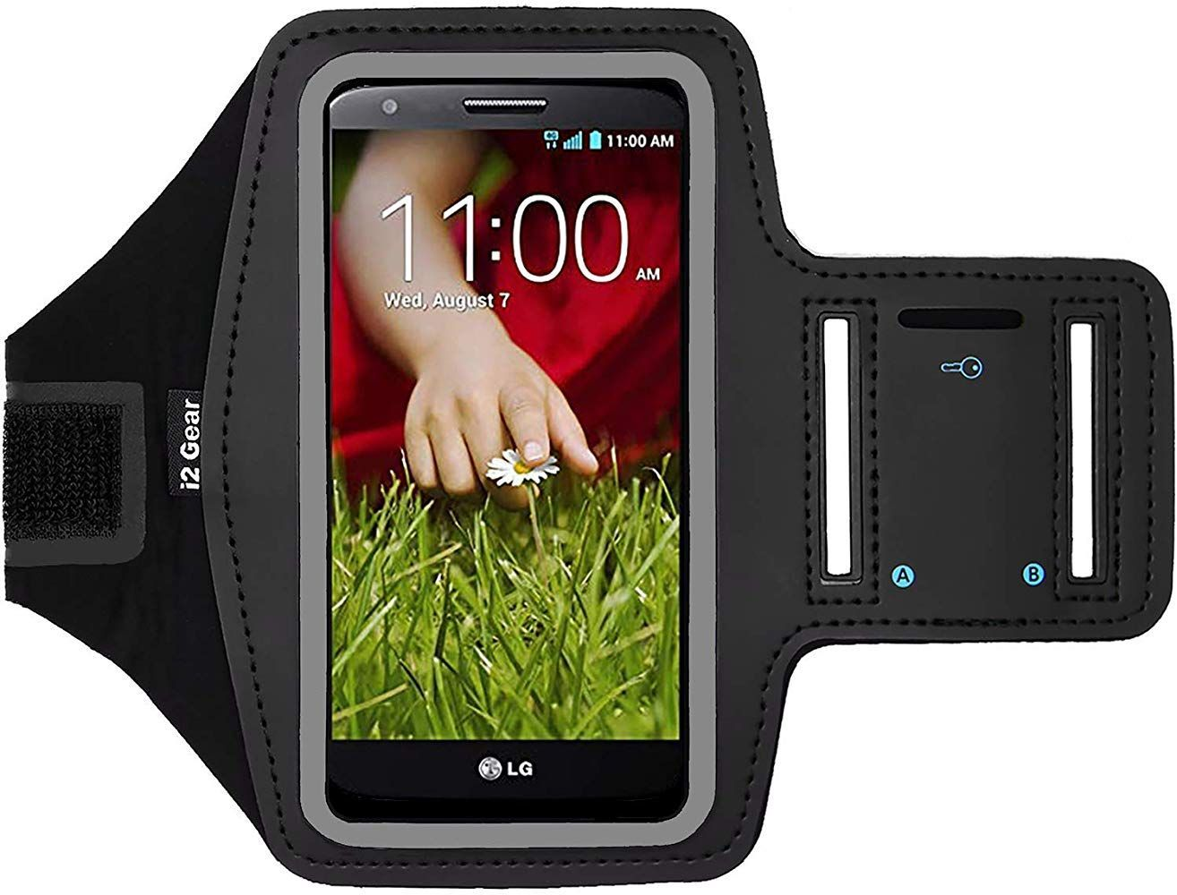 i2 Gear Fitness Cell Phone Armband for Running - Workout Phone Holder with Adjustable Strap Reflective Edge - Arm Band Case for LG G2 G2 Mini G2 Mini LTE LG G2 Lite (Black) #watches #jewelry #fashions #trends #moda #women #men #armband #armbandworkouts i2 Gear Fitness Cell Phone Armband for Running - Workout Phone Holder with Adjustable Strap Reflective Edge - Arm Band Case for LG G2 G2 Mini G2 Mini LTE LG G2 Lite (Black) #watches #jewelry #fashions #trends #moda #women #men #armband #armbandworkouts