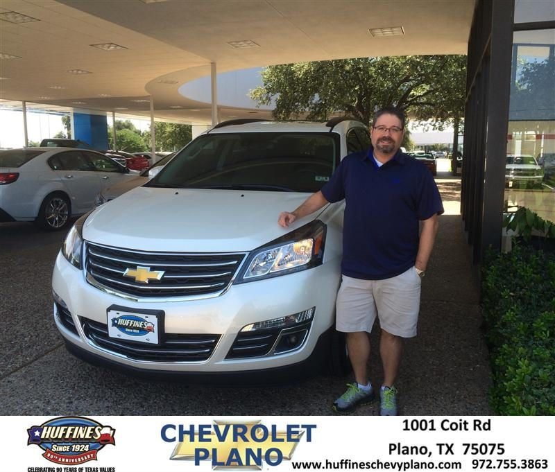 Congratulations To Jeff Mark On Your Chevrolet Traverse Purchase