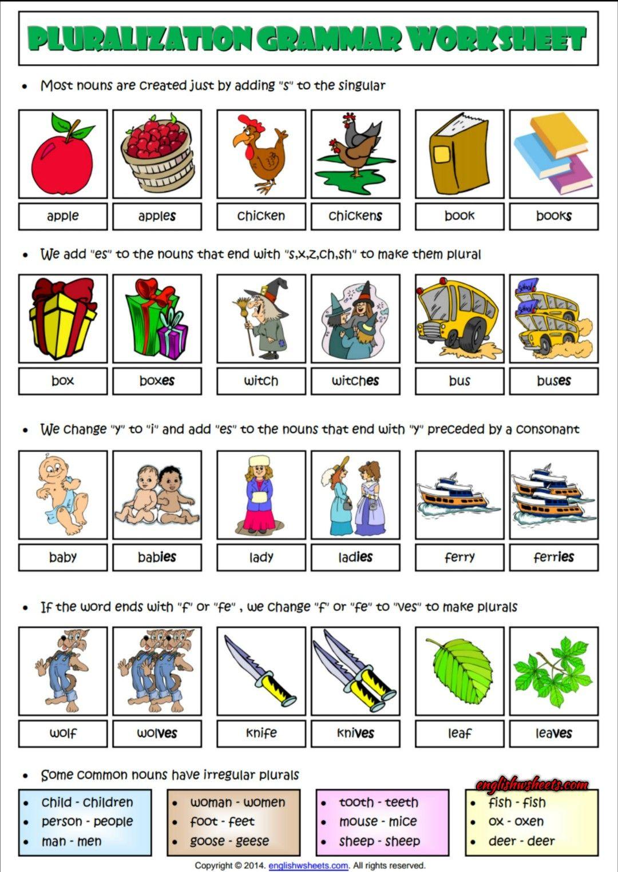 Singular And Plural Nouns Pdf Nouns Kindergarten Plurals Nouns Worksheet Kindergarten [ 1066 x 800 Pixel ]