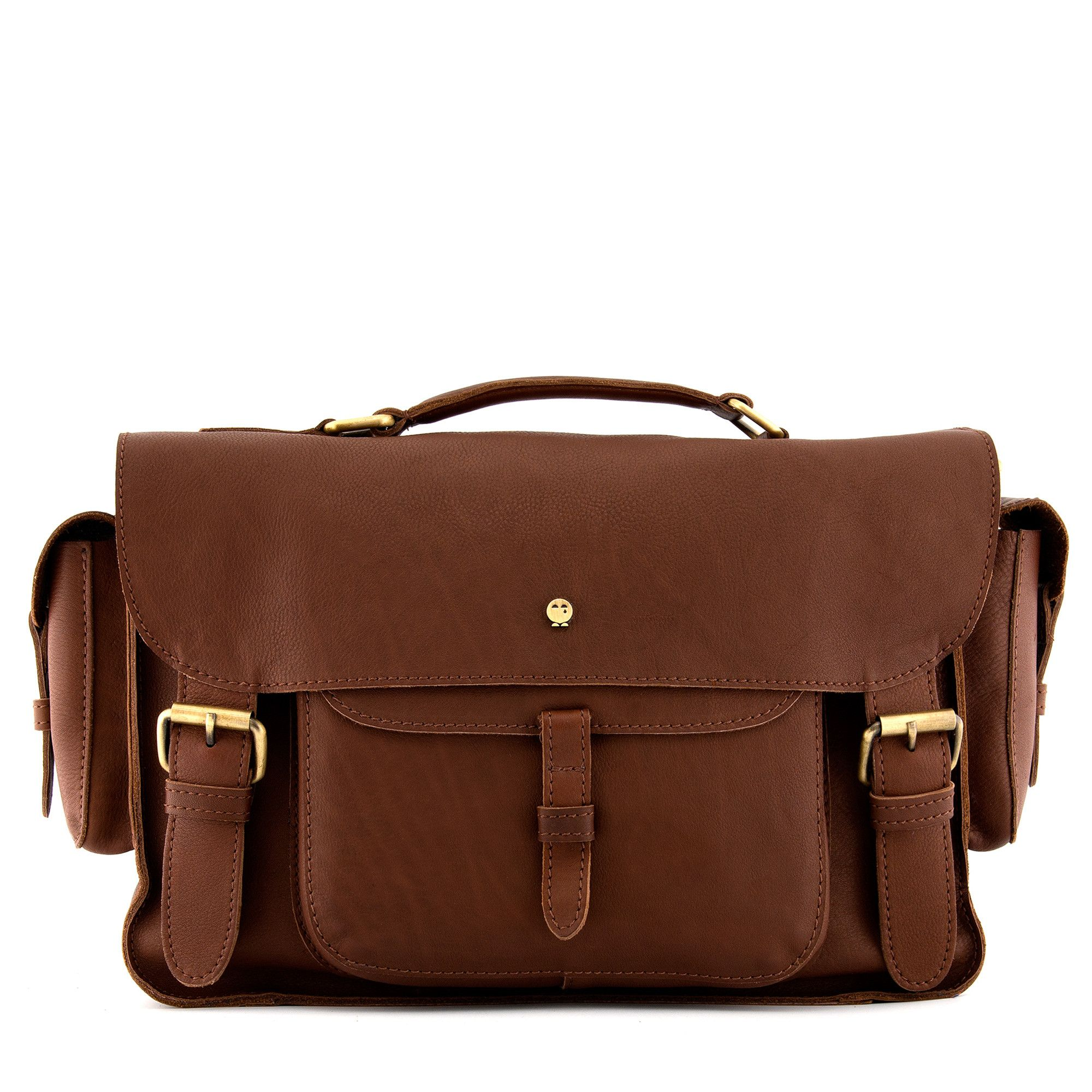 ee794edd1 The Jankis Brown Leather Satchel Bag by Yoshi | wish list | Brown ...