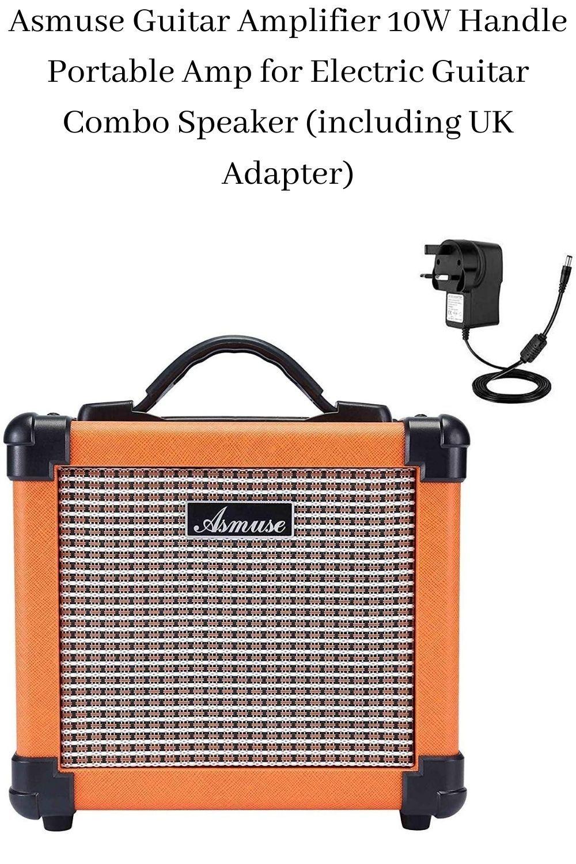 Asmuse Guitar Amplifier 10w Handle Portable Amp For Electric Guitar Combo Speaker Vintage Guitar Amps Guitar Amp Acoustic Guitar Amp