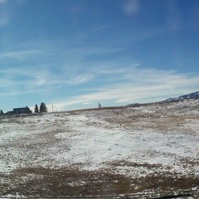 Cold and clear out the window, #Boulder to #Denver by #bus. #roadtrip #winter #Colorado #unitedstates #travel