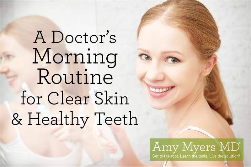 Morgenroutine eines Doktors für klare Haut und gesunde Zähne   – W3LL PEOPLE Turning Heads