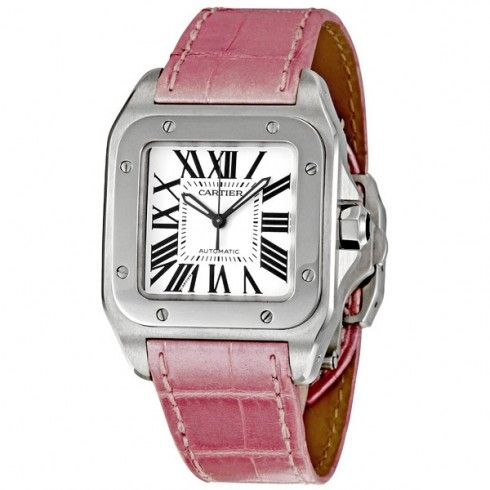 Cartier Santos 100 Automatic Unisex Watch. Available through our Brand Name Watches auction, live now!