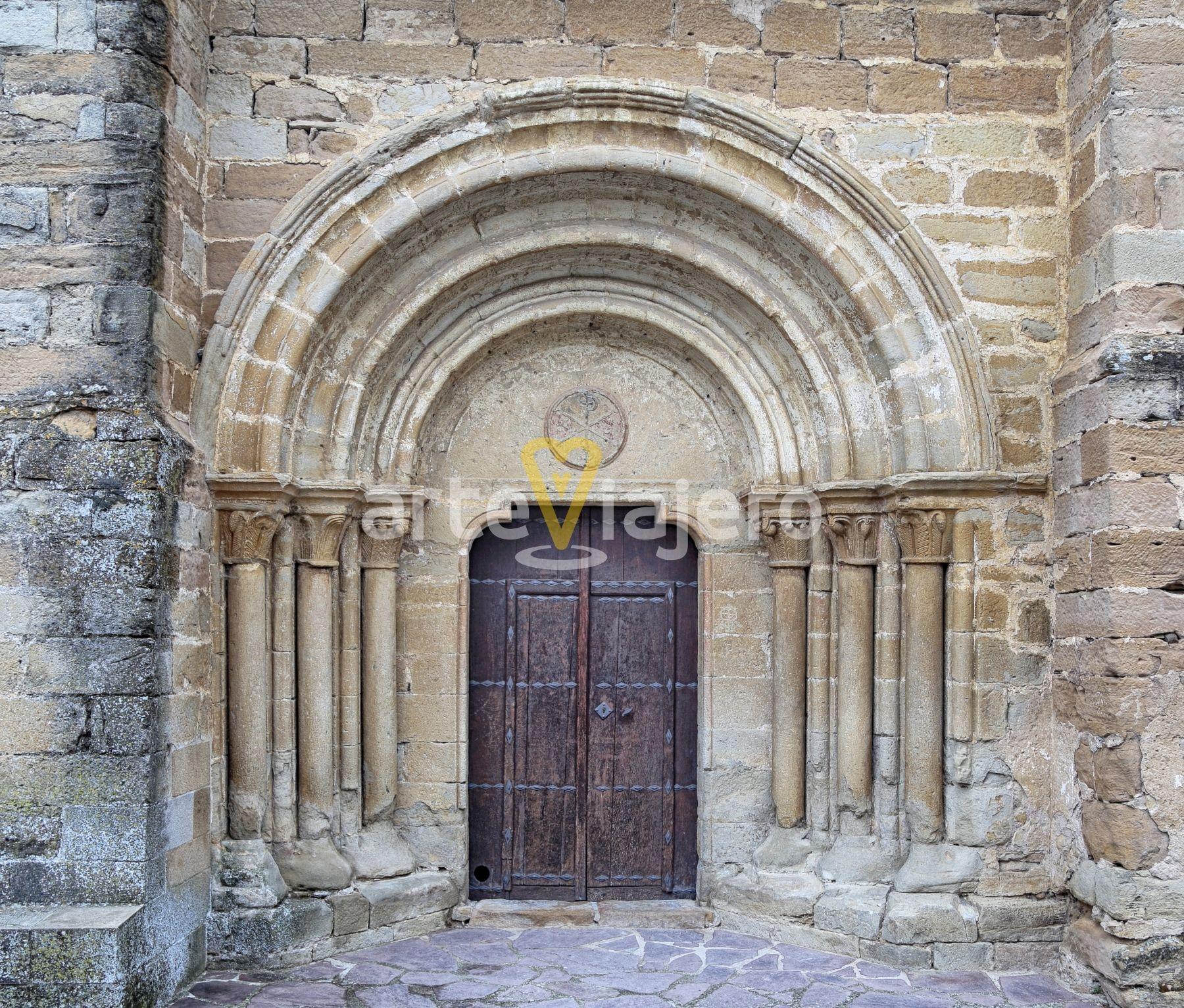 Portada Románica Iglesia De San Andrés Zariquiegui Navarra Zariquiegui Romanico Navarra Caminodesantiago Arte Art R Arquitectura Iglesia Monumentos