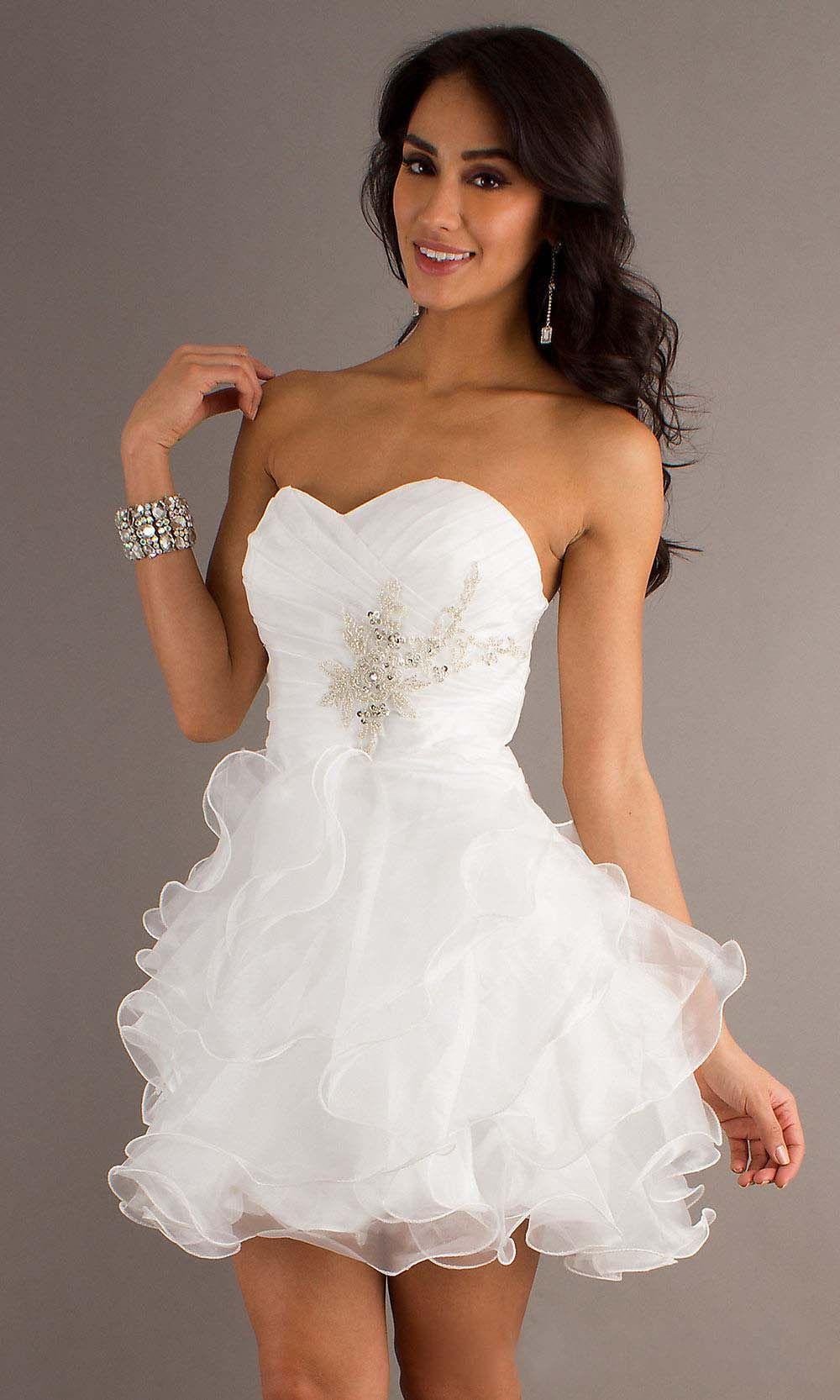 Cheap short cute aline sweetheart prom dress in love wthis