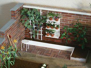 minttumeiramin miniatyyrit: Kasvihuone sai katon - vihdoinkin! - Greenhouse II
