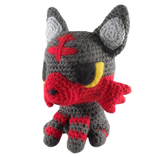 Pokemon: Litten pattern by i crochet things | Patrones amigurumi ...