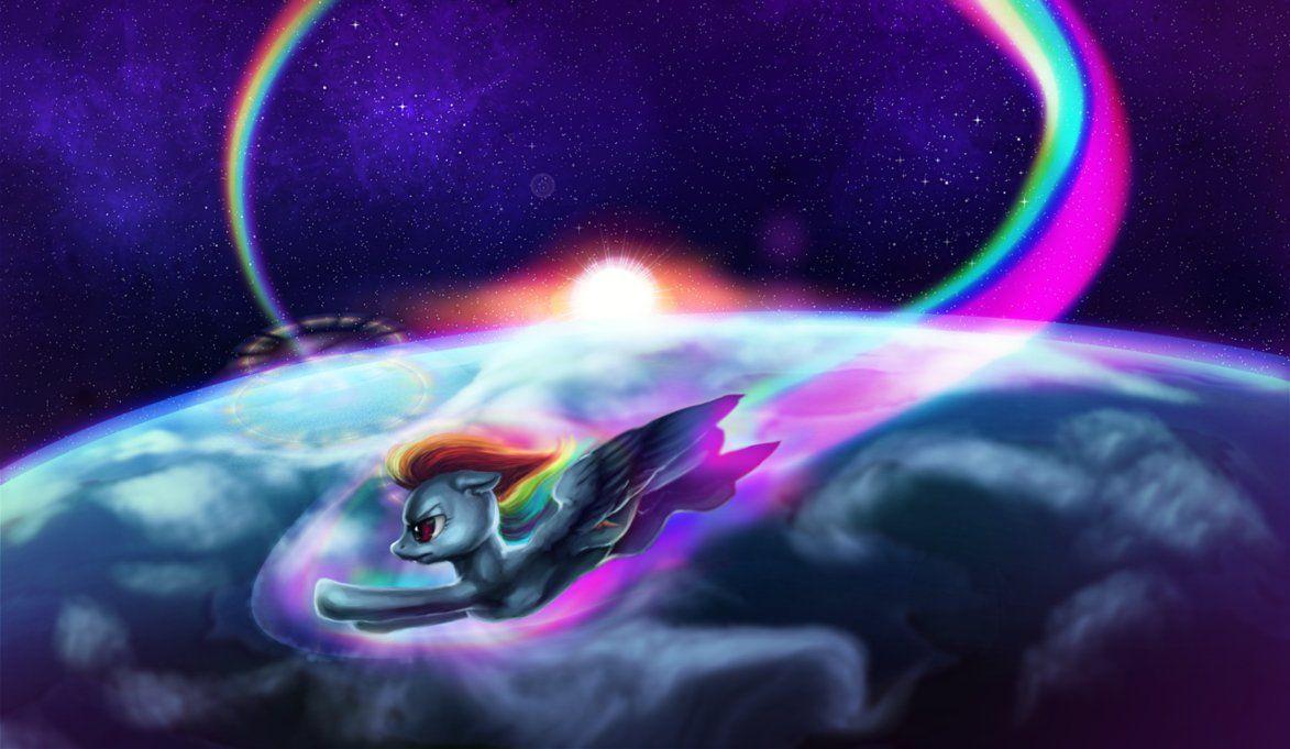 Rainbow Dash Sonic Rainboom With Images Rainbow Dash Dash